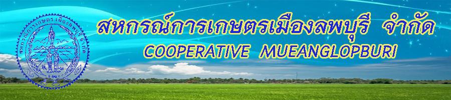 สหกรณ์การเกษตรเมืองลพบุรี จำกัด